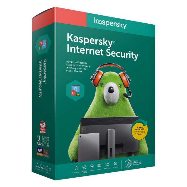 نرم افزار امنیتی کسپرسکی اینترنت سکیوریتی - ۱کاربر ۱ ساله