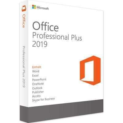 مایکروسافت آفیس ۲۰۱۹ پروفشنال پلاس - لایسنس OEM