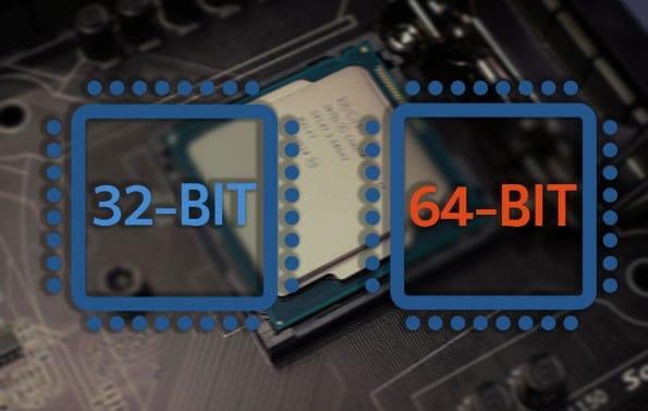 ویندوز 23و 64 بیتی